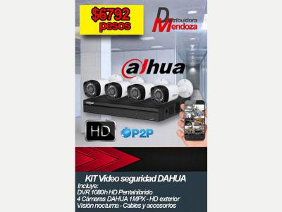 Informatica KIT VIDEO SEGURIDAD HD - LISTO PARA INSTALAR