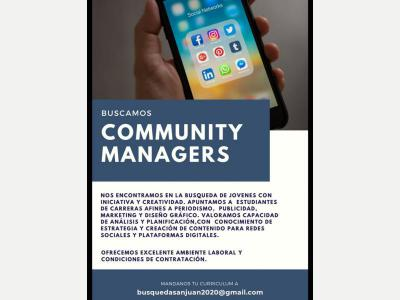 BUSCAMOS COMMUNITY MANAGERS